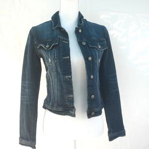 Articles of society distressed jean jacket Small